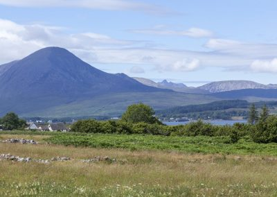 Cuillin Hills by Broadford (from Strathgorm)